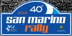 Rally San Marino 2012