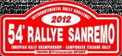 Rallye Sanremo 2012