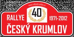 40. Rallye Český Krumlov 2012