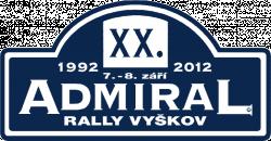 Admiral Rally Vyškov 2012