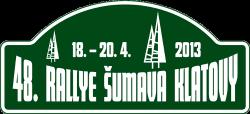 Rallye Šumava Klatovy 2013