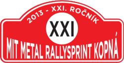 Mit Metal Rallysprint Kopná 2013