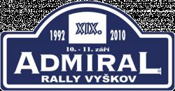 Admiral Rally Vyškov 2010