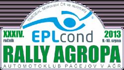 EPLcond Rally Agropa Pačejov 2013