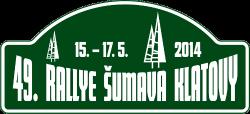 Rallye Šumava Klatovy 2014