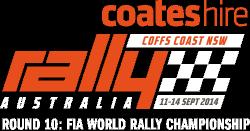 Coates Hire Rally Australia 2014