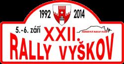 XXII. Rally Vyškov 2014