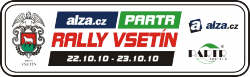 alza.cz - Partr Rally Vsetín 2010
