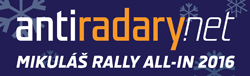 Mikuláš Rally all-in Antiradary.net 2016