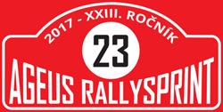 Ageus Rallysprint Kopná 2017