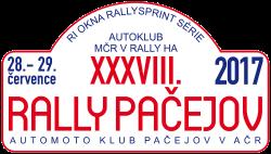 Rally Pačejov 2017
