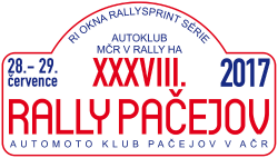 Rally Pačejov 2017 - historic