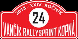 Vančík Rallysprint Kopná 2018 - historic